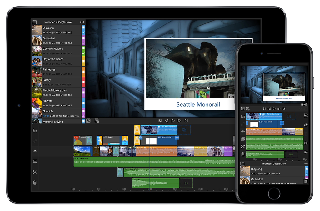 LumaFusion for iPad and iPhone