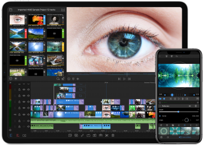 LumaFusion 2.0 iPhone-XS+iPad-Pro-13-Landscape